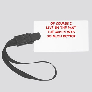 past Luggage Tag
