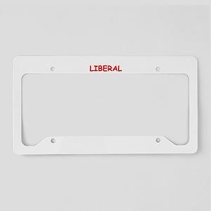 liberal License Plate Holder