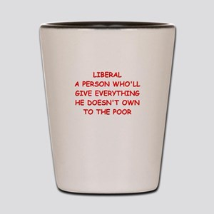 liberal Shot Glass
