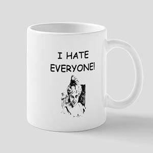 i hate everyone Mugs