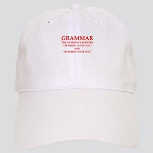 grammar Baseball Cap