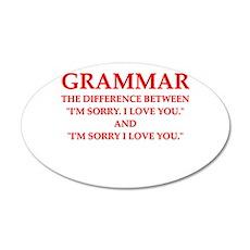 grammar Wall Decal