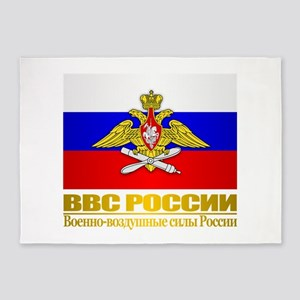 Russian Air Force 5'x7'Area Rug