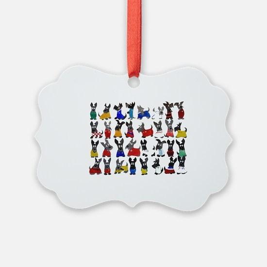 Scottie Dog 'World Cup' Ornament