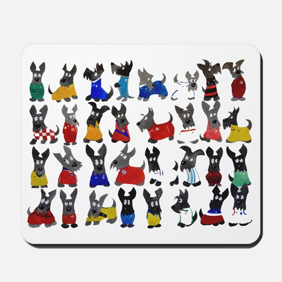 Scottie Dog 'World Cup' Mousepad
