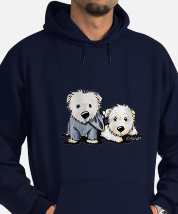 Griffin and Winston Hoodie (dark)