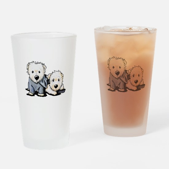 Griffin and Winston Drinking Glass