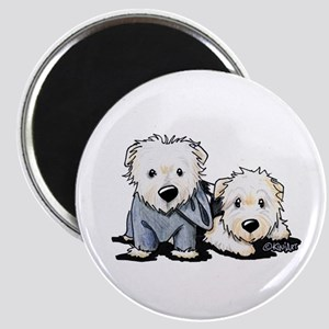 Griffin and Winston Magnet