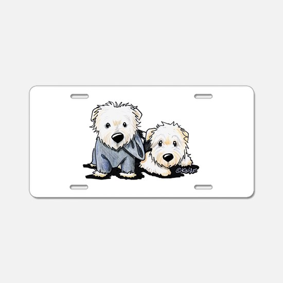 Griffin and Winston Aluminum License Plate
