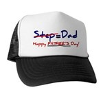 Happy Father's Day Step-Dad 1 - Trucker Hat