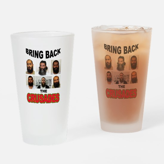 CRUSADES Drinking Glass
