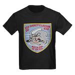USS EVERETT F. LARSON Kids Dark T-Shirt