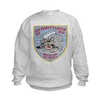 USS EVERETT F. LARSON Kids Sweatshirt
