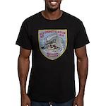 USS EVERETT F. LARSON Men's Fitted T-Shirt (dark)