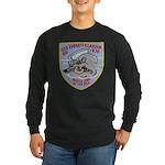 USS EVERETT F. LARSON Long Sleeve Dark T-Shirt