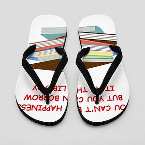 BOOKS3 Flip Flops