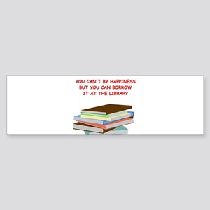 BOOKS3 Bumper Sticker