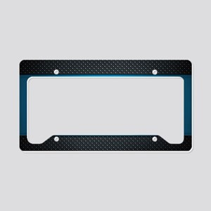 Abstract License Plate Holder