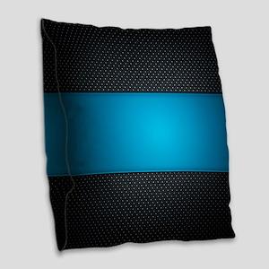 Abstract Burlap Throw Pillow