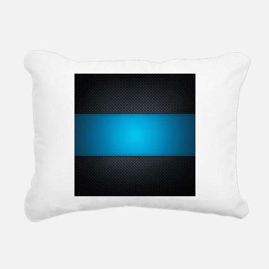 Abstract Rectangular Canvas Pillow