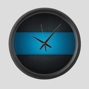 Abstract Large Wall Clock