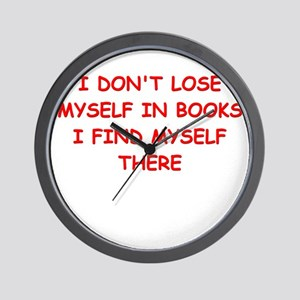 BOOKS4 Wall Clock