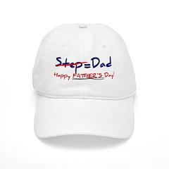 Happy Father's Day Step-Dad 1 - Baseball Baseball Cap