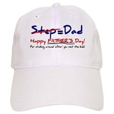 Happy Father's Day Step-Dad 1 - Baseball Cap
