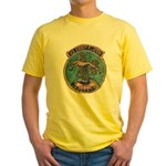 USS EVERETT F. LARSON Yellow T-Shirt