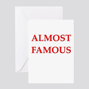 Almost famous greeting cards cafepress almost greeting cards m4hsunfo