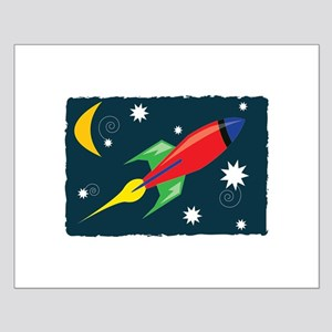 Rocket Ship Posters