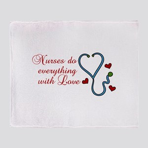 With Love Throw Blanket