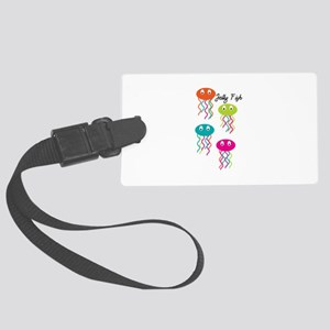 Jelly Fish Luggage Tag
