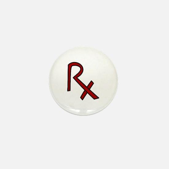 RX Pharmacist Mini Button