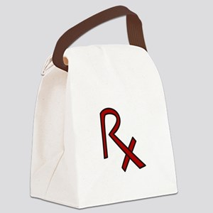 RX Pharmacist Canvas Lunch Bag