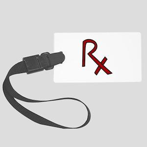 RX Pharmacist Luggage Tag