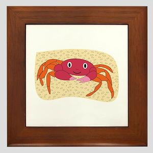 Crab Framed Tile