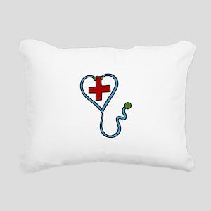 Stethoscope Rectangular Canvas Pillow