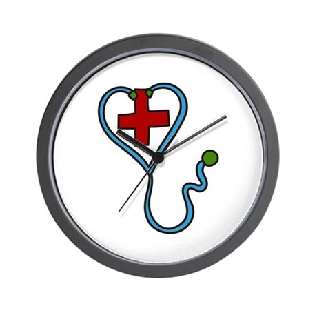stethoscope wall clock by concord11