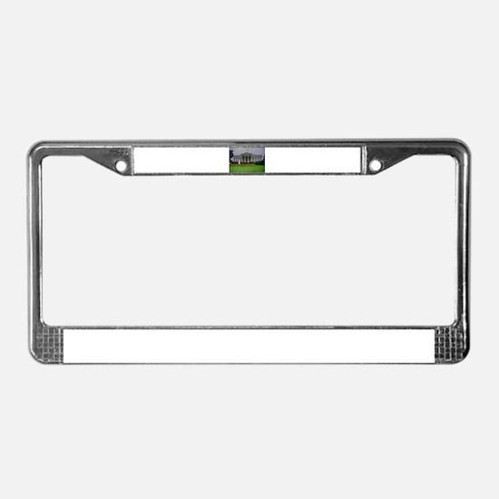 White House License Plate Frame
