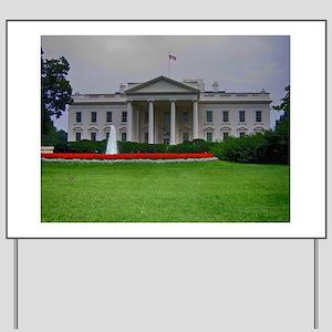 White House Yard Sign