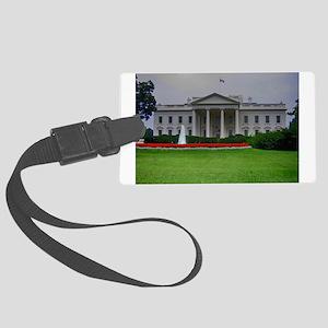 White House Luggage Tag