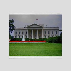 White House Throw Blanket