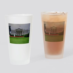 White House Drinking Glass