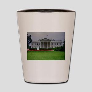 White House Shot Glass