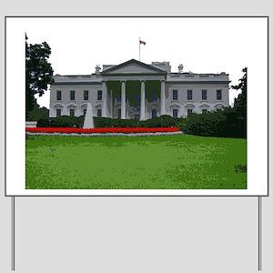 White House edit Yard Sign