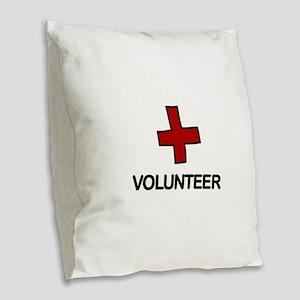 Volunteer Burlap Throw Pillow