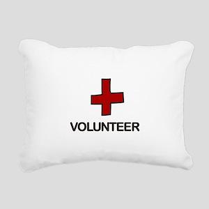 Volunteer Rectangular Canvas Pillow