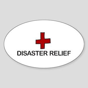 Disaster Relief Sticker