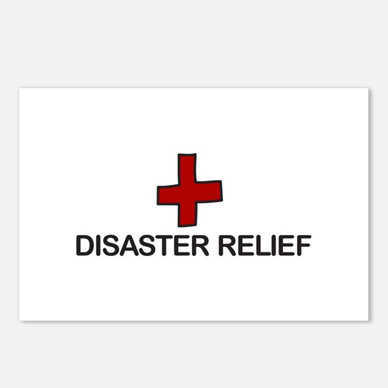 Disaster Relief Postcards (Package of 8)